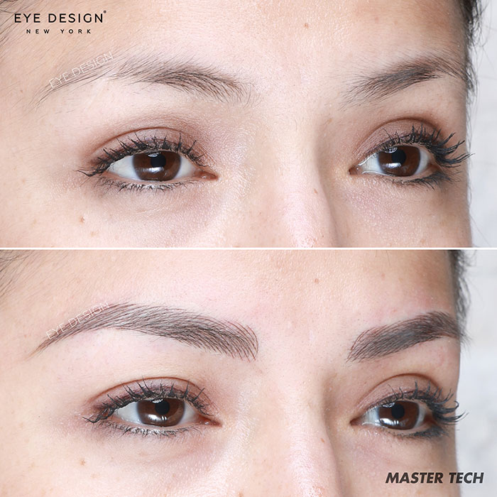 Eyebrow Microblading Custom Eyebrow Design Ny Eye Design Studio