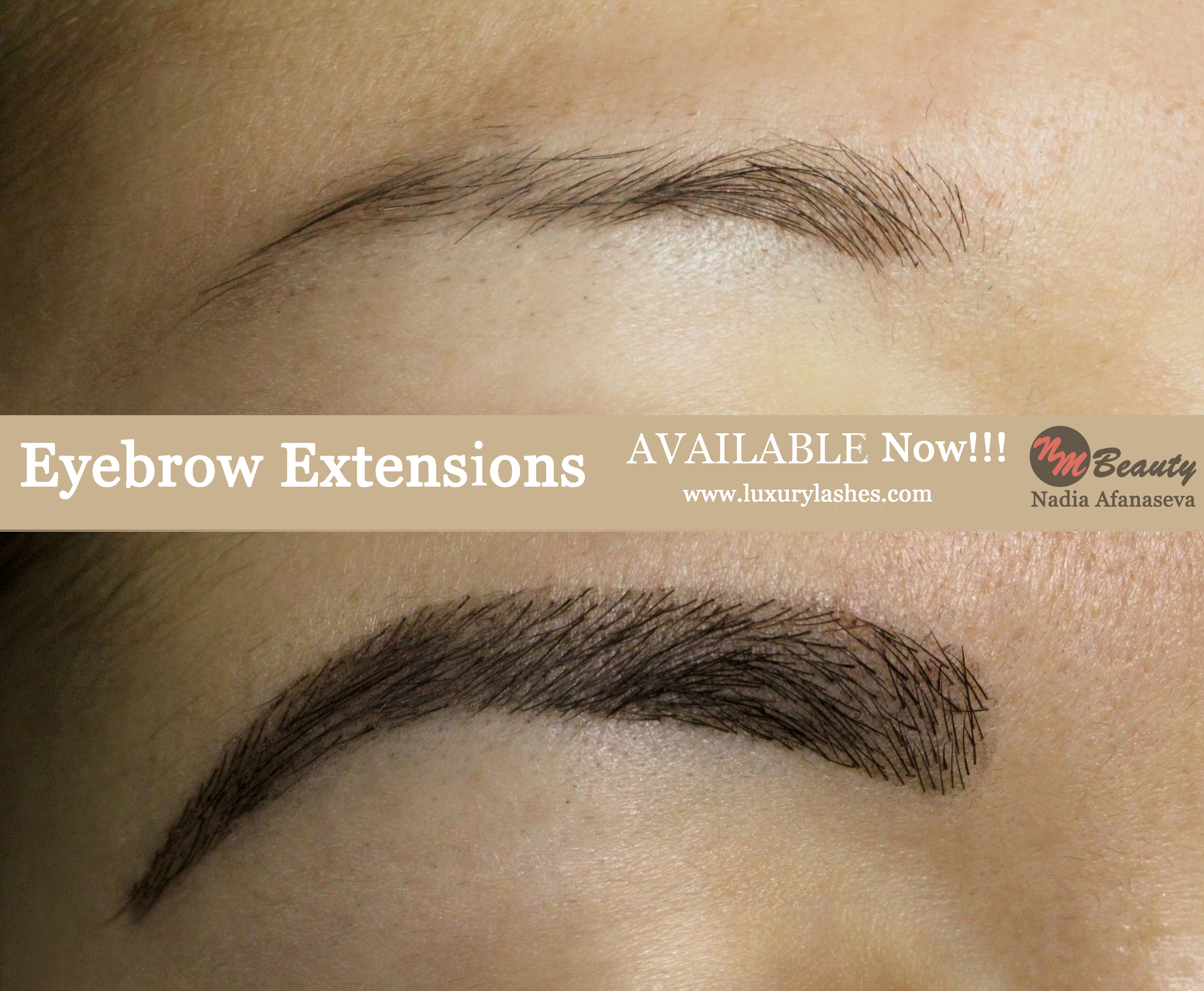 synthetic hypoallergenic eyebrow extensions ny service