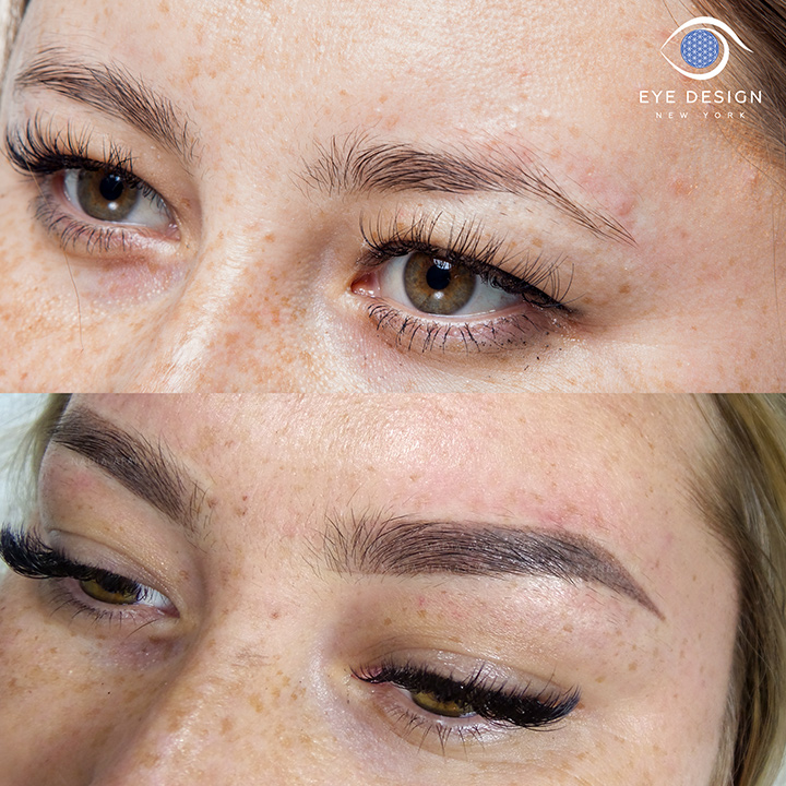 Eyebrow Microblading + Powder Effect