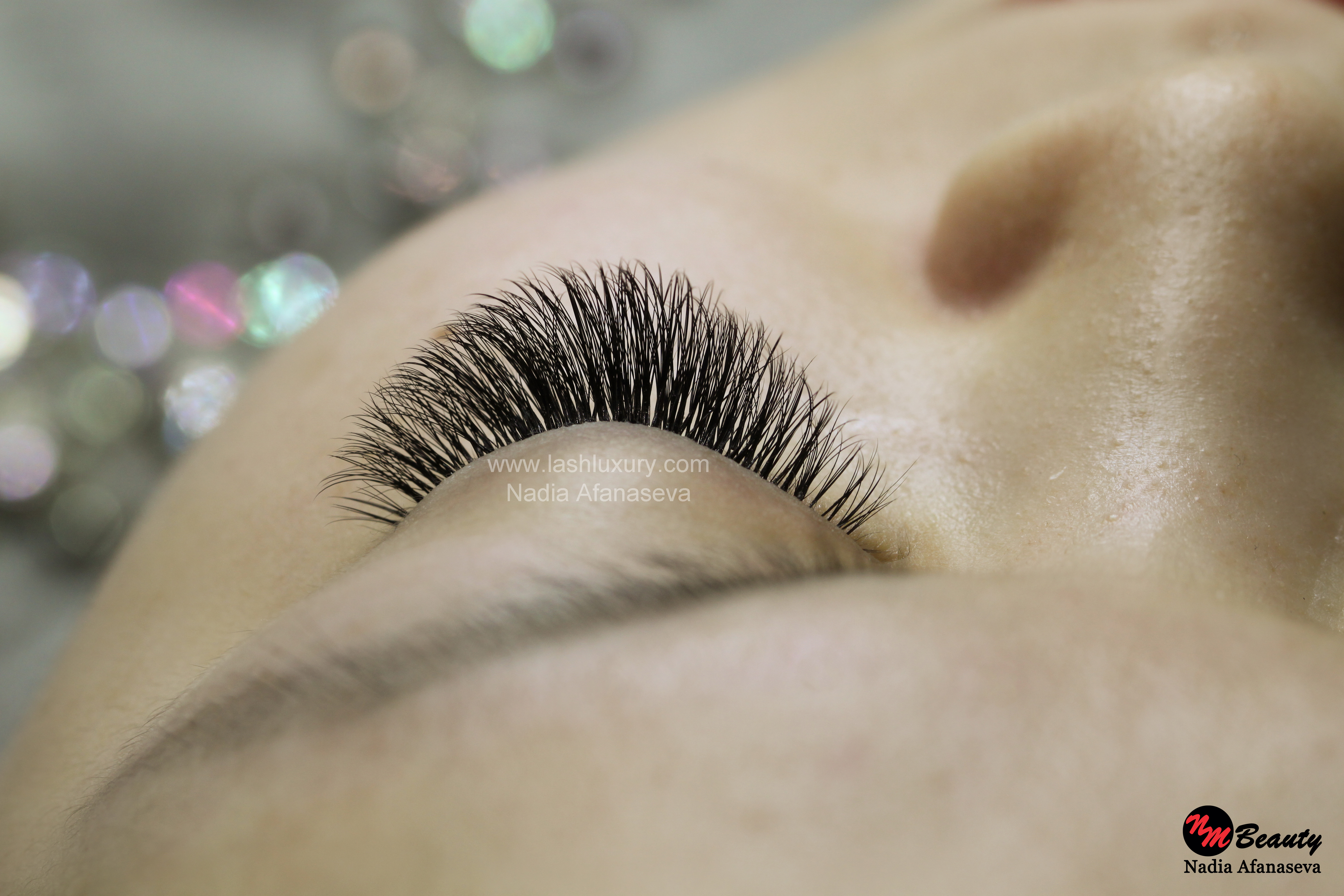 new york volume lash extensions service